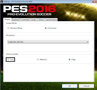 Cara Paling Mantap Untuk Mengatasi Lag Game PES 2016