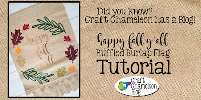 Tutorial on htv on burlap garden flag