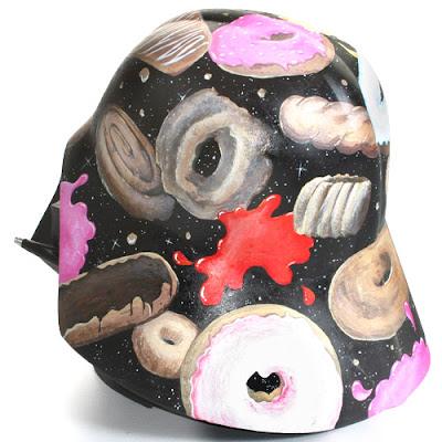 Jason Knudson Donut Darth Vader Helmet