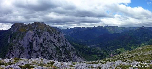 Panorámica hacia el Valle de Teverga