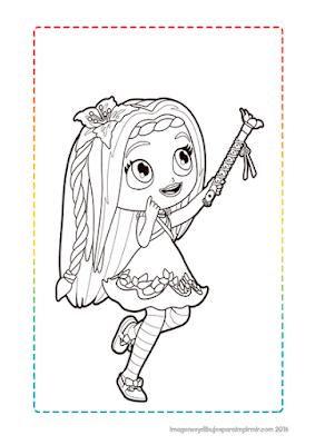 dibujos de los personajes de little charmers