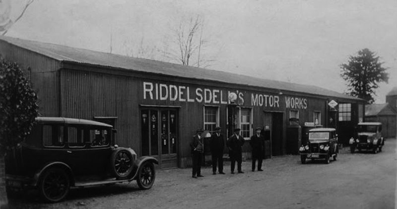 Just a car guy riddelsdell brothers was established in boxford suffolk uk in 1900 and is - Garage auto h strasbourg ...