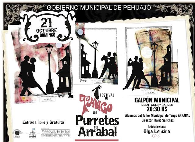 """Primer Festival de Tango: """"Los Purretes de Arrabal"""""""