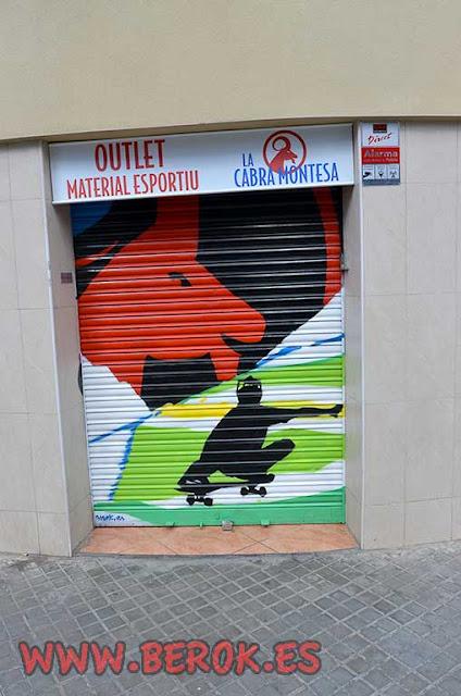 graffiti persiana Skate Board