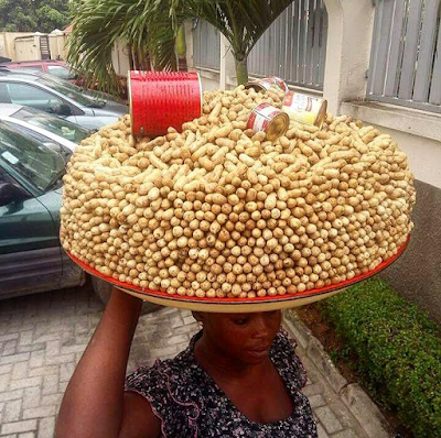 Dignity in Labour - check out this incredible marketing Skill for cooked groundnut