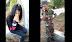 Ketahuan Ngelem Sama TNI, Wanita Ini Malah Di Santai Saat Mau Dibawah Kekantor Polisi