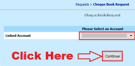 how to apply for new cheque book in bank of india