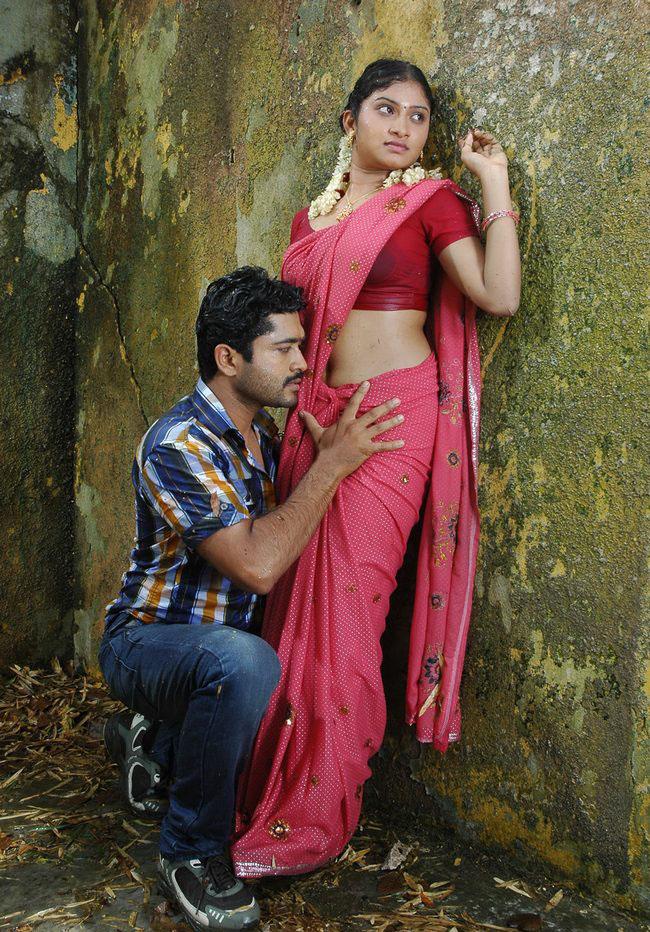Akshatha In Wet Saree Hot Konjum Mainakkale Movi Stils -8218