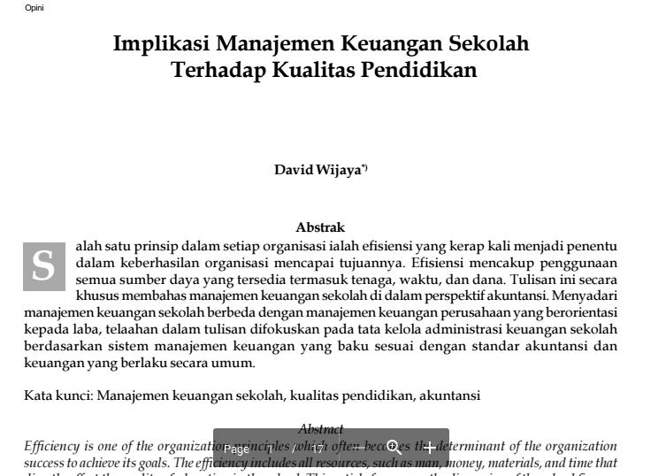 jurnal manajemen keuangan Manajemen pembelajaran materi akuntansi keuangan pada siswa kelas xi program keahlian akuntansi smk batik 2 surakarta tahun ajaran 2017/2018 skripsi skripsi, universitas muhammadiyah surakarta.