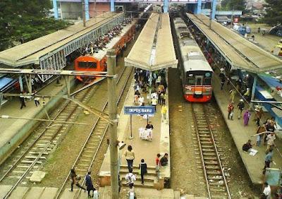 Alamat Stasiun Depok Baru