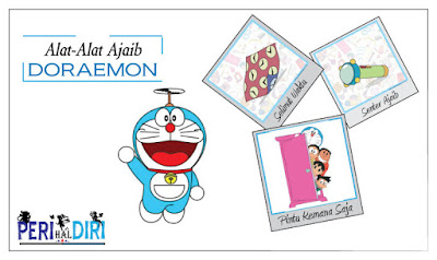 Alat-Alat Dari Kantong Ajaibnya Doraemon Yang Wajib Dimiliki