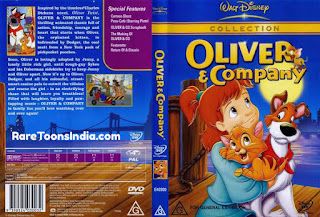 Oliver & Company (1988) BluRay 480p 720p Dual Audio (Hindi   English) Esubs 1