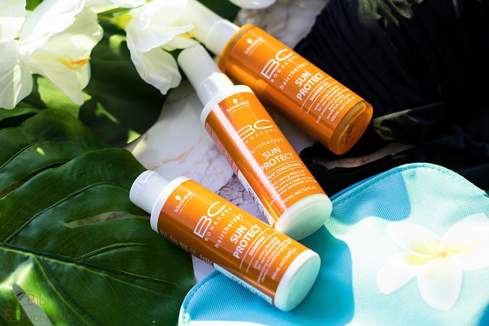 Sonnenschutz fürs Haar Tipp 3 richtige Pflege Schwarzkopf Professional Sun Protect