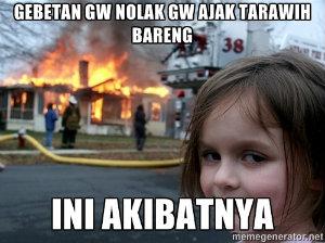 Meme Lucu Tarawih