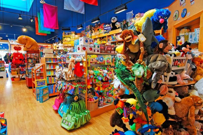 Lojas de brinquedos em San Francisco na Califórnia