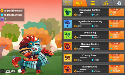 Hero Simulator: Idle Adventures