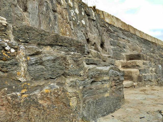Polkerris Old Harbour Wall