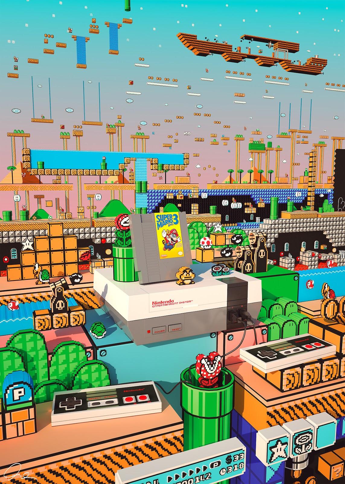 El Mundo de Super Mario Bros 3 - Onséke