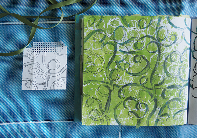 Bändermuster Sketchbook ©Müllerin Art