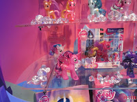 MLP New Explore Equestria Sparkle Bright Brushables at the NY Toy Fair 2016