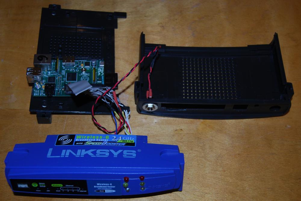 The Raspberry Pi Hobbyist Wifi Router Case Mod