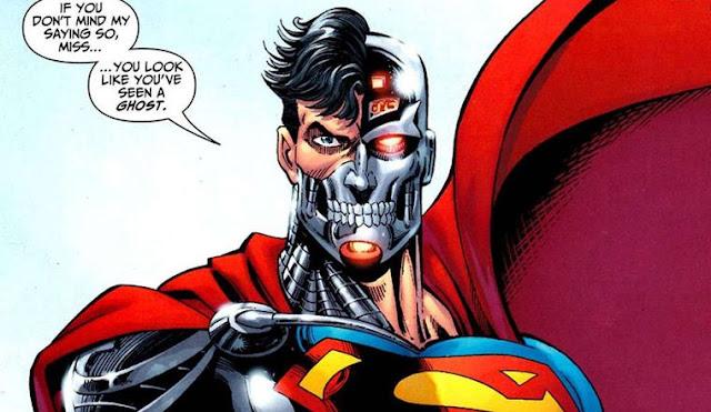kekuatan Cyborg Superman asal-usul Cyborg Superman