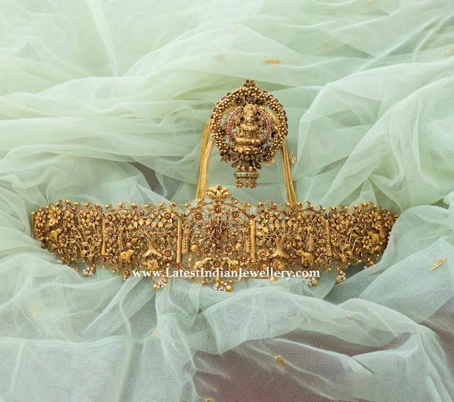 Vaddanam Vanki Set from Vaibhav
