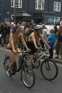 Bristol World Naked Bike Ride 2016, Cardiff World Naked Bike Ride 2016, WNBR, nude bike ride, naked bike ride