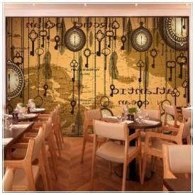 foto desain interior cafe klasik