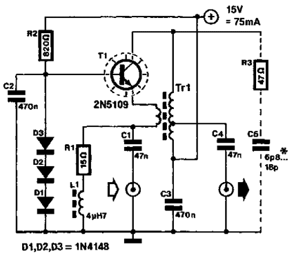 High Level Wideband Rf Preamplifier Circuit Diagram Centre - Wiring
