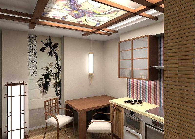 stylist japanese interior for kitchen in your apartment