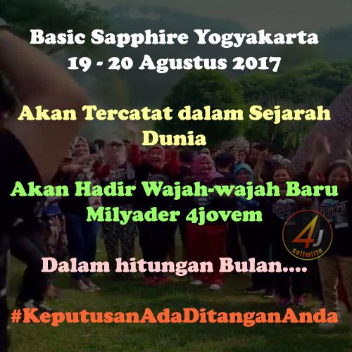 Training Basic Sapphire 4jovem di Jogjakarta