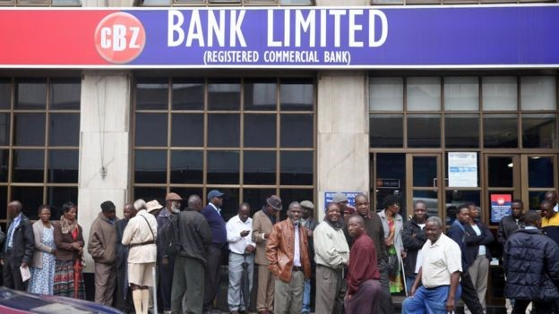 Bank in Zimbabawe