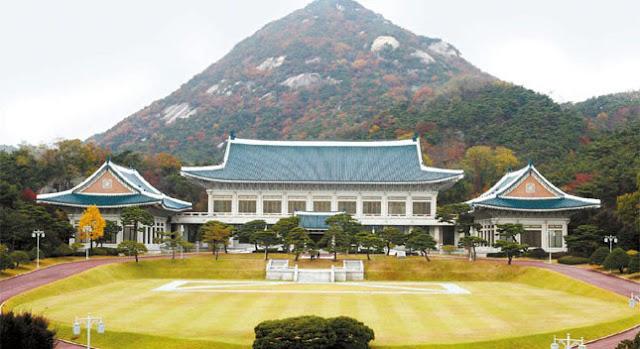 Dinh Tổng Thống Hàn Quốc Blue House