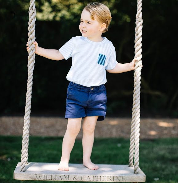 Prince William and Duchess Catherine have released new photos of their son, Prince George, to mark his 3rd birthday