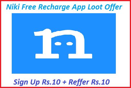 Niki-Free-Recharge-App-Loot-Offer