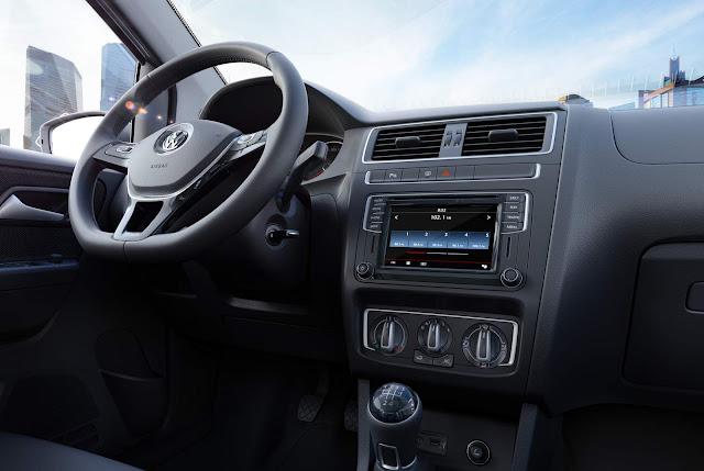 Volkswagen Fox 2017 - painel