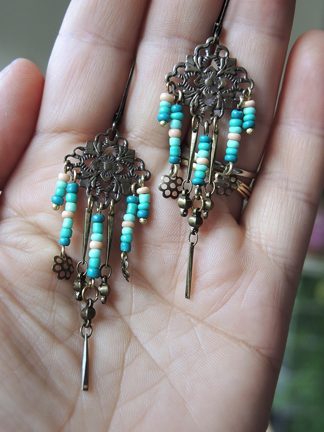 free earring tutorial