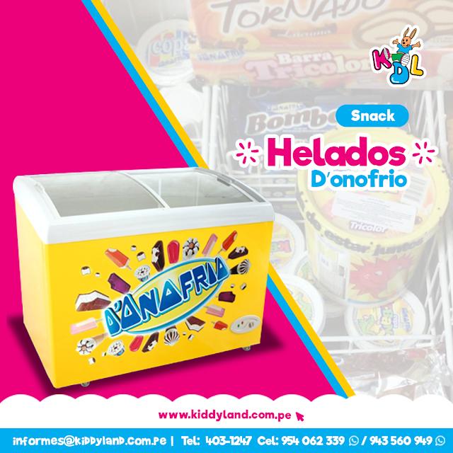 Helados D'onofrio Snack Perú