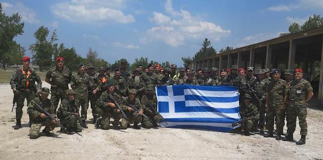 Στην άσκηση «Μέγας Αλέξανδρος» στο Κιλκίς συμμετείχε το τάγμα Εθνοφυλακής Ηγουμενίτσας