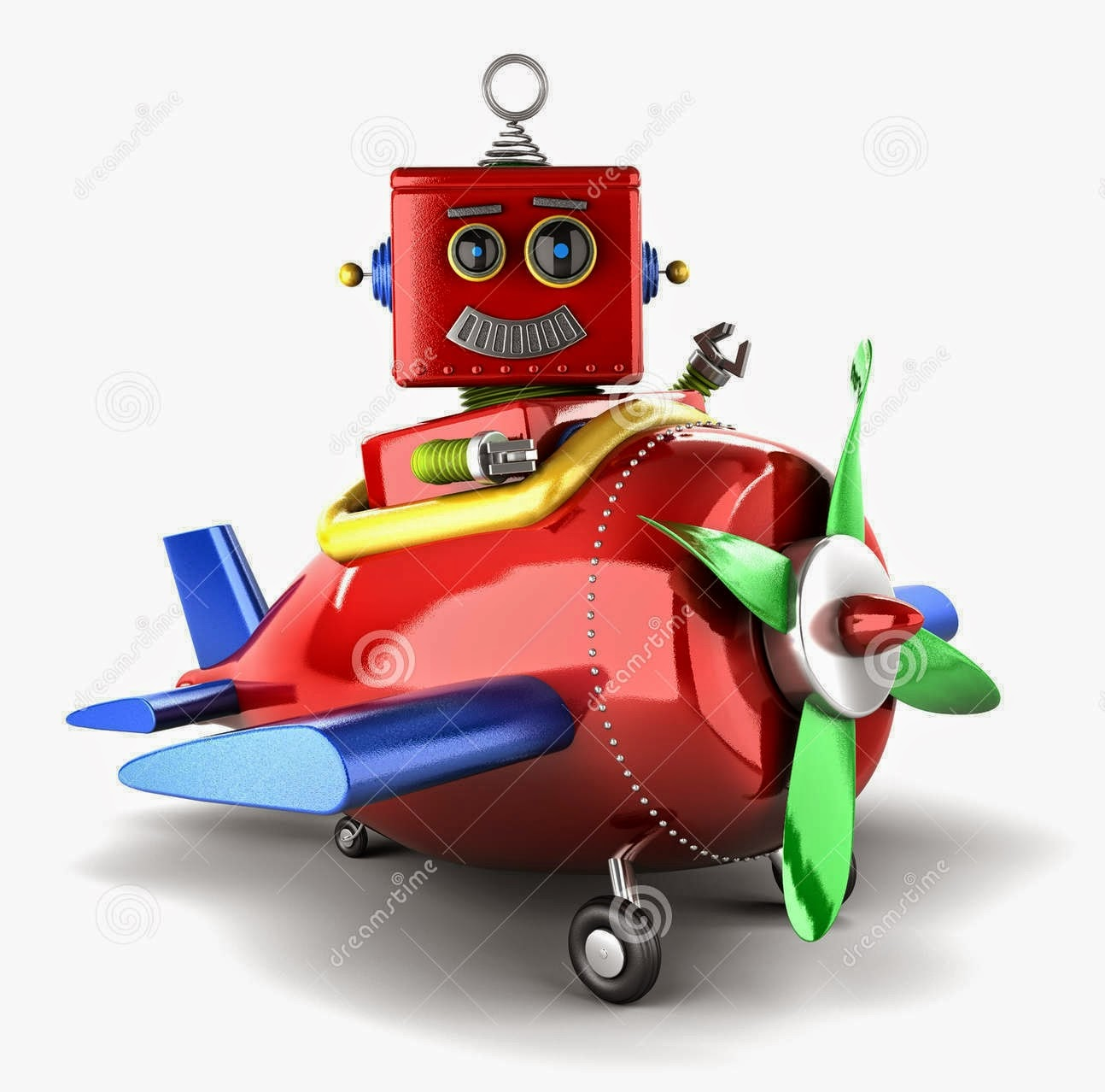 Robot Hijack A Plane in Chandigarh