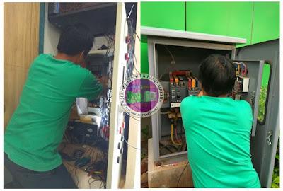 terima service panel listrik