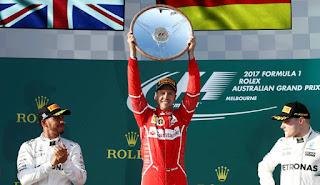 FÓRMULA 1 (GP Australia 2017) - Vettel arranca el Mundial doblegando a los Mercedes