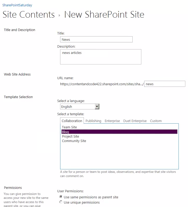 sharepoint 2013 blog template kate 39 s sharepoint blog news articles using sharepoint