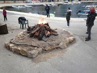 Božićne slike Splitska otok Brač Online