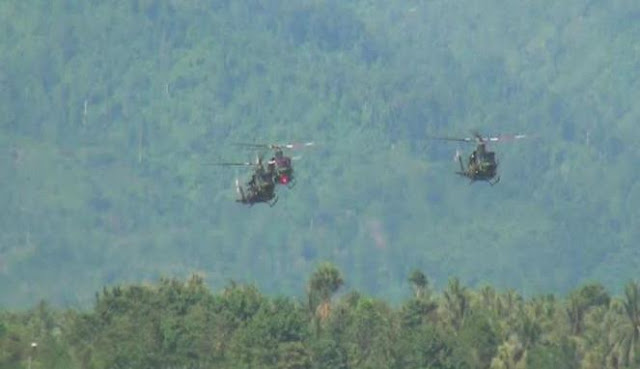 Helikopter TNI Meledak di Poso Pesisir Selatan