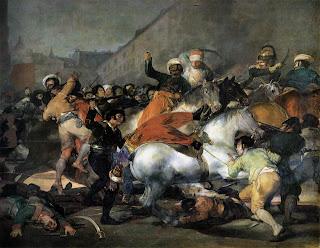 Resultado de imagen de levantamiento 2 de mayo de 1808