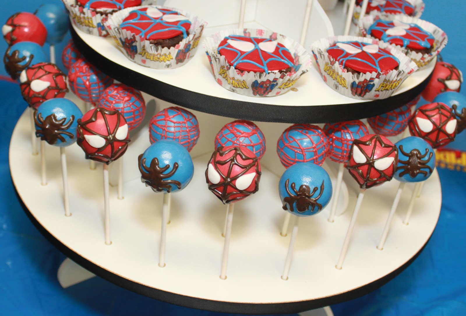 The Cake Cake Pops For All Occasions Spiderman