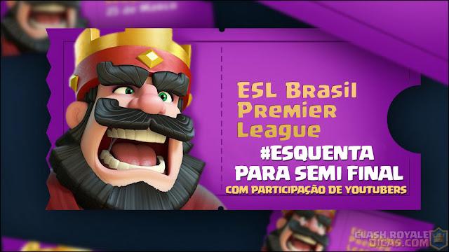 ▶️ Esquenta para Semifinal da Brasil Premier League - 1