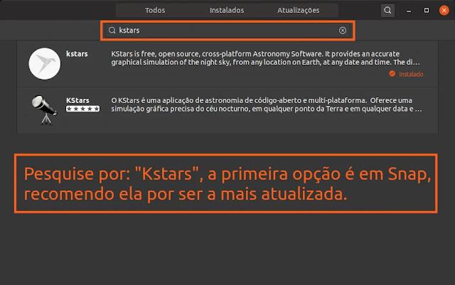 instalar-kstars-snap-deb-programa-app-astronomia-amador-profissional